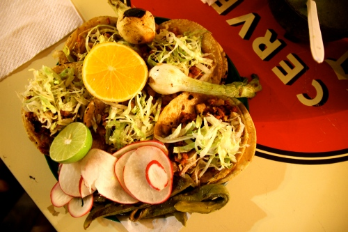 Street Food in San Andres Cholula, Mexico