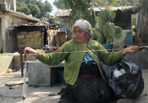 Woman in San Juan Chamula, Chiapas, Mexico
