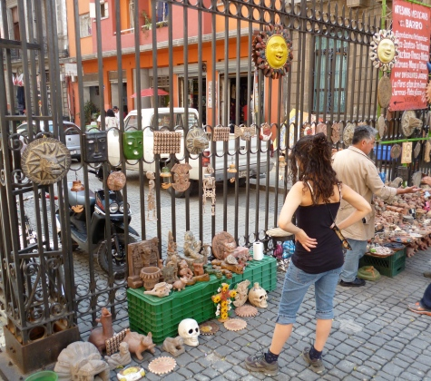 Shopping in the historical center