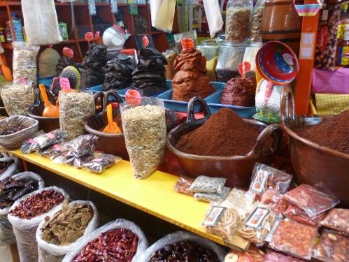Mexico City food market