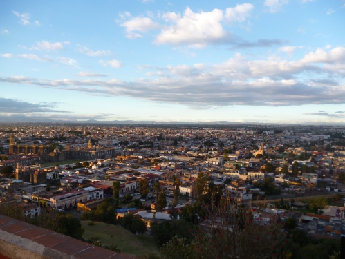 View of Cholula, our home during 2013.